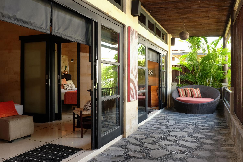 Amanputri Villa - 1st Floor Terrace